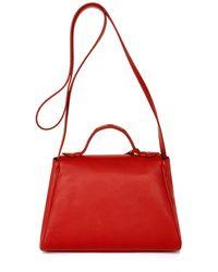 Myriam Schaefer - Mini Byron Leather Cross-Body Bag - Lyst
