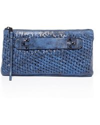 She + Lo - Take A Chance Leather Clutch - Lyst