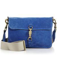 Gucci Jackie Soft Suede Shoulder Bag - Lyst