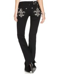 Miss Me Black Black Wash - Lyst