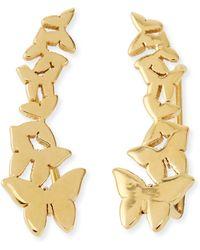 Jennifer Zeuner Symone Butterfly Earring Cuffs - Lyst