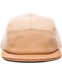 Hender Scheme - Leather Cap - Lyst