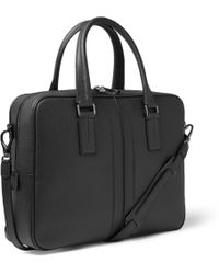 Tod's - Textured-leather Briefcase - Lyst