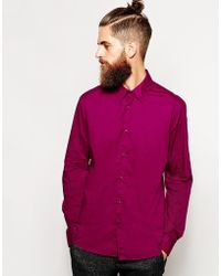 Scotch & Soda Shirt In Cotton - Lyst