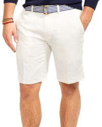 Ralph Lauren Polo Classic-fit Briton Linen Short - Lyst