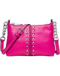 Michael Kors Michael Astor Chain Crossbody pink - Lyst