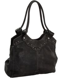 Frye Vintage Stud Shoulder Bag - Lyst
