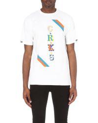 Crooks and Castles - Maison-print Cotton-jersey T-shirt - Lyst