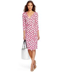 Diane von Furstenberg New Julian Two Silk Jersey Wrap Dress - Lyst