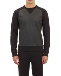 Y-3 Tech Coated Sweatshirt - Lyst