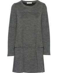 Etoile Isabel Marant Watford Marled-jersey Mini Dress - Lyst