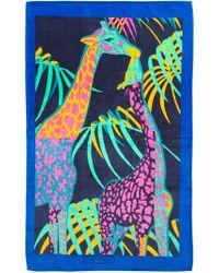 Ferragamo - Giraffe-Print Beach Towel - Lyst