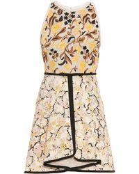 Giambattista Valli Embroidered Macramé-Lace A-Line Dress - Lyst