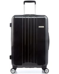 "Calvin Klein Bridgehampton 21"" Carry On Expandable Hardside Spinner Suitcase black - Lyst"