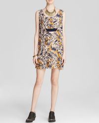 Free People Mini Dress - Tropical Printed - Lyst