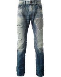 Diesel Thavar Skinny Jeans - Lyst