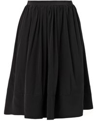 Elizabeth And James Avenue Knee-Length Silk Skirt - Lyst