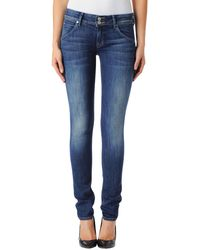 Hudson Collin Skinny Jeans - Lyst