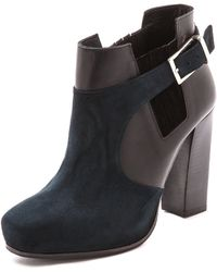 Surface To Air - Double Layer Booties - Navy/Black - Lyst