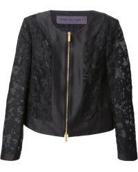 Emanuel Ungaro Devoré Cotton Jacket - Lyst