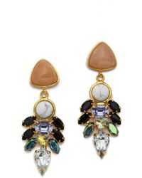 Lizzie Fortunato Le Palace Earrings Multi - Lyst