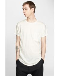 Chapter - 'Yuri' Pocket T-Shirt - Lyst