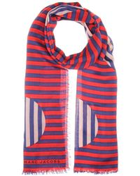Marc By Marc Jacobs Graphic Charles Dot Scarf - Lyst