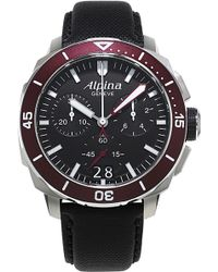 Alpina - Al-372lbbrg4v6 Seastrong Diver 300 Big Date Chronograph Watch - Lyst