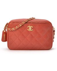 Chanel Pre-Owned Chain Shoulder Bag - Lyst