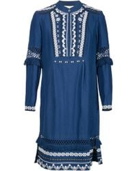 Sea | Sea Embroidered Shirt Dress | Lyst