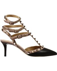 Valentino Shoes Heel 65 Rockstud Leather - Lyst