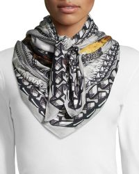 Givenchy Rottweiler Modal-Cashmere Scarf - Lyst