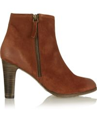 NDC - Tess Sonia Suede Boots - Lyst