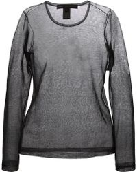 Marc By Marc Jacobs Sheer Long Sleeve T-Shirt - Lyst