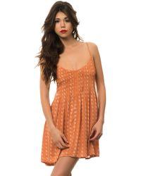 RVCA The Told Secrets Dress - Lyst