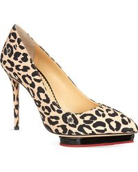 Charlotte Olympia Debbie Court Shoes - For Women - Lyst