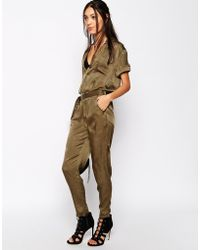 Lavish Alice - Never Fully Dressed Relaxed Jumpsuit With Utility Details - Lyst