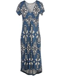 Odd Molly Knee-Length Dress blue - Lyst