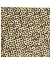 Harrods - Paisley Silk Handkerchief - Lyst
