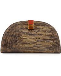 Etienne Aigner - Crown Leather Mini-clutch - Lyst