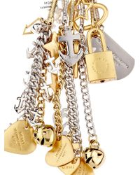 Marc By Marc Jacobs - Multi-Charm Key Ring - Lyst