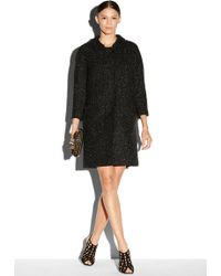 Milly Alexis Coat black - Lyst