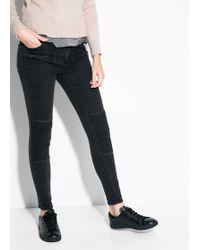 Mango Skinny Angel Jeans - Lyst