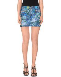 Just Cavalli | Denim Skirt | Lyst