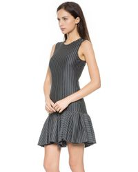 Torn By Ronny Kobo Jayda Dress  Heather Charcoal Stripe - Lyst