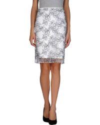 Reed Krakoff Knee Length Skirt - Lyst