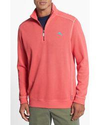Tommy Bahama 'Antigua Cove' Half Zip Pullover - Lyst