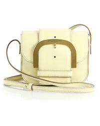Stella McCartney Buckle Faux-Leather Shoulder Bag - Lyst
