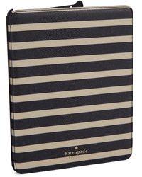 Kate Spade Space Mariner Stripe Ipad 2 Or 3 Folio Hardcase - Lyst