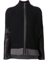 Yigal Azrouel Knit Jacket - Lyst